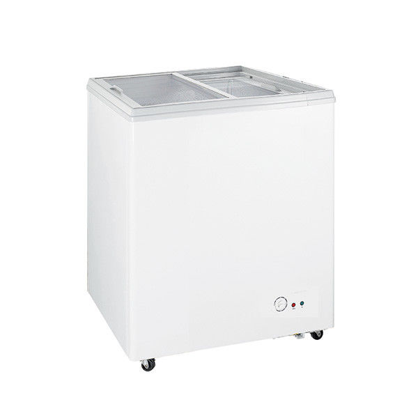 Manual Defrost Commercial Chest Freezer Single Temperature 160L Capacity