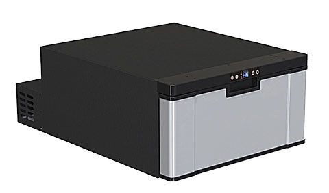 Direct Cooling Low Power Low Noise Drawer Type Mini Car Refrigerator , 12 Volt Freezer For Car 40L Capacity
